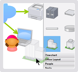 Create an appealing diagram easily on the Web